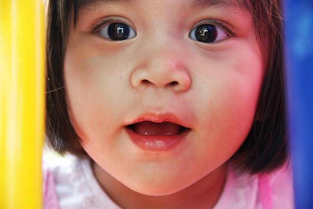 asijská holčička