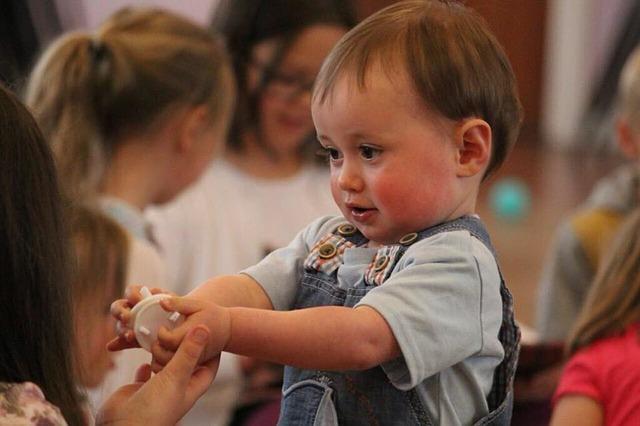 chlapeček ve školce