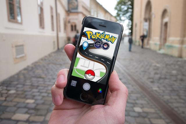 pokemon v mobilu