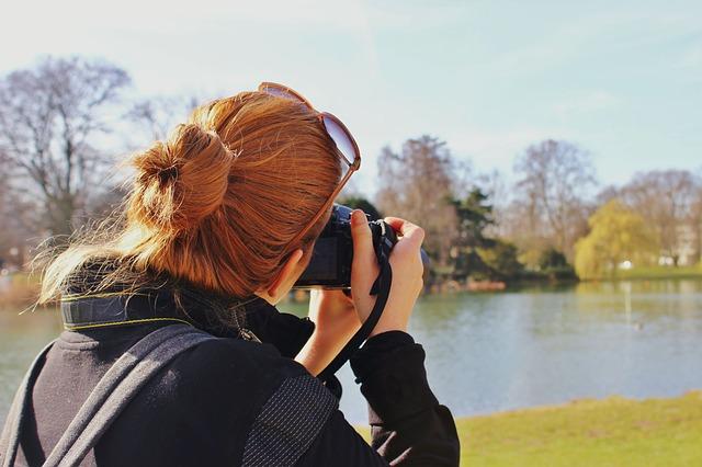 zrzavá fotografka