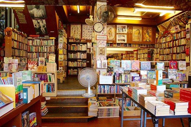 obchod s knihami