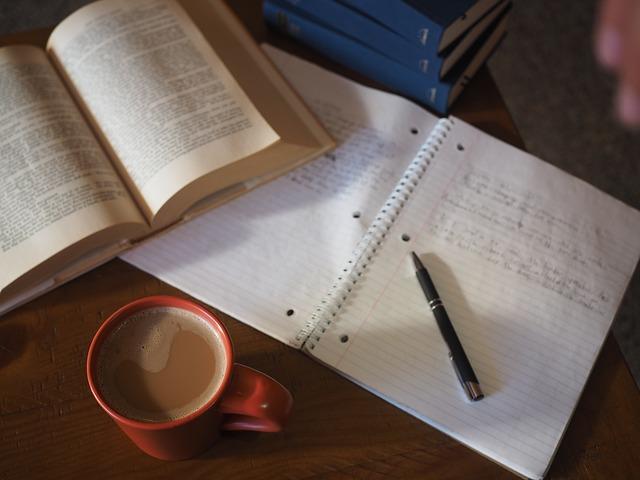káva u učení