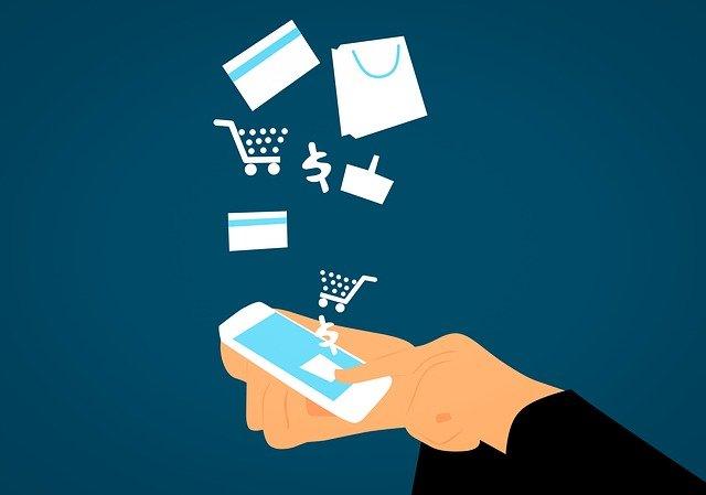 nákup přes mobil