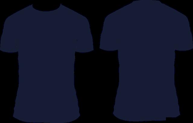 černé tričko
