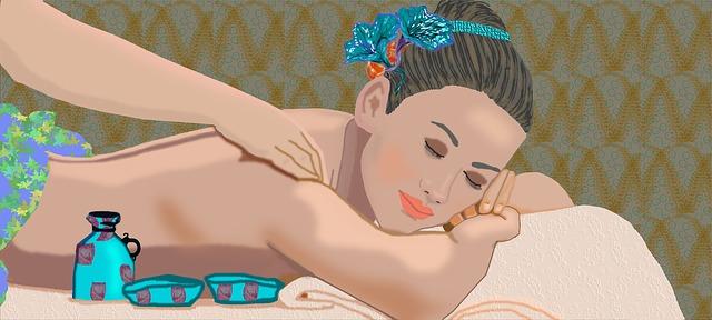 erotická masáž má pro ženy blahodárné účinky